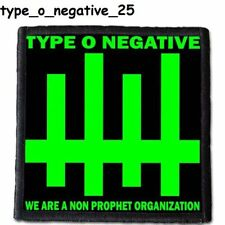 TYPE O NEGATIVE 3  Patch  4x4 inche (10x10 cm) new