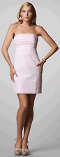 Lilly Pulitzer Franco Lilly's Pink Glady Gingham Strapless Tie Back Dress 10