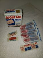 Vintage 1983 Band Aid Plastic Bandages Tin Container Johnson And Johnson