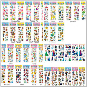 20 Sheets Cartoon Bubble Kids Party Stickers