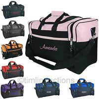 32f3d4fa3c51 Personalized Gym Bag School Sports Duffel Travel Carry On Groomsmen Cheer  Dance
