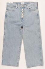WRANGLER Women's RETRO Boyfriend Cropped Jeans, Tubble Blue, size W28 L30