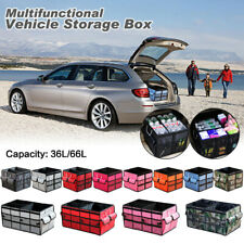 Car SUV Trunk Foldable Cargo Organizer Toolbox Storage Bag Case Large Capacity