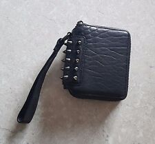 Life With Bird - Kingston leather black studded clutch bag - New without tags