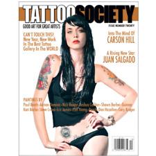 TATTOO SOCIETY Magazine Issue 20 JAYME FOXX, Juan Salgado, Carson Hill, Galleria