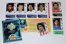 Panini WC WM Germany 2006 06 – SET 7 EXTRA UPDATE STICKERS MINT!
