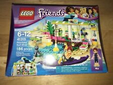 LEGO Friends Heartlake Surf Shop Girls Building Set 41315 NEW Sealed  186 Pieces