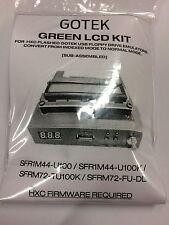 Gotek Vert LCD Mod Kit pour Gotek USB projet HXC Floppy Emulator. pas de soudure