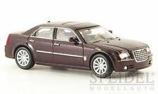 HO 1:87 Ricko 38662 Chrysler 300C Hemi SRT 8 Sedan Metallic Dark Red (Maroon)