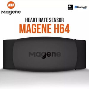 Magene H64 bluetooth 4.0 ANT+ Heart Rate Monitor Chest Strap Fitness Tracker hk