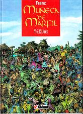 MUÑECA DE MARFIL  Nº  6    TOMO EN TAPA DURA POR FRANZ.