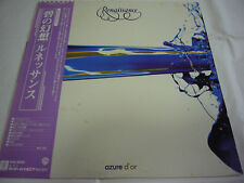 RENAISSANCE-Azure D'or JAPAN 1st.Press w/OBI PROMO White Label Genesis Rainbow