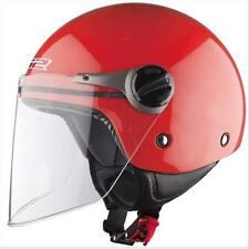 CASCO JET LS2 OF575.1 JUNIOR WUBY GLOSS RED TG L