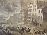 1865 Harper's Weekly - April 22 - Grant enters Richmond