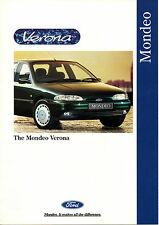FORD MONDEO VERONA BROCHURE 1995 NEVER LEFT SHOWROOM