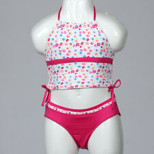 NEW Pink Platinum Girl's Ditsy Floral 2 pieces Tankini Swimsuit -Multicolor- 4