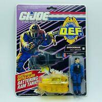 Gi Joe Cobra action figure vintage moc Hasbro 1991 DEF force Shockwave swat tank