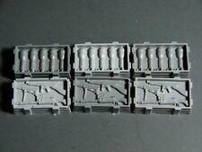 Lot of 6 Resin 28mm Weapon Crates