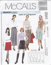 From UK Sewing Pattern A-line Skirt 4-10 Sewing Bee #3341