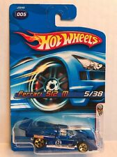 Hot Wheels 2006 First Editions Blue Ferrari 512 M