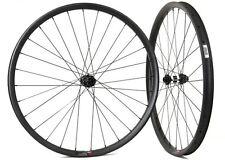 29er carbon asymmetric mtb wheelset 36mm wide carbon wheels for XC mountain bike