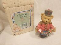 "Cherished Teddies ""Jeffery Striking Up Another Year 1996 "" Boxed"
