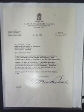 Norman Vincent Peale Typed Letter Signed - Reformed Church of America - 1964