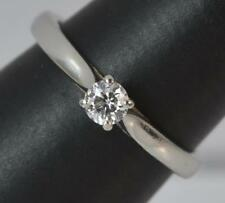 GIA Flawless D Colour Diamond & Platinum Solitaire Engagement Ring