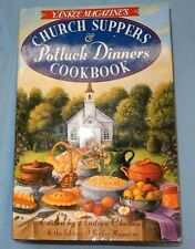 Church Suppers and Potluck Dinners Cookbook 1996 HC Fudge & Walnut Maple Pies