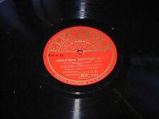 "STOKOWSKI / LISZT ungarische rhapsodie ( classical ) electrola 3086 78 rpm 12"""
