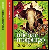 Running Wild by Michael Morpurgo, NEW Book, FREE & FAST Delivery, (Audio CD)