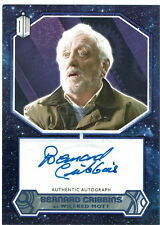 Doctor Who 2015 Autograph Bernard Cribbins - Wilfred Mott Purple Parallel #23/25