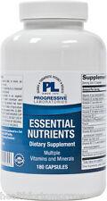 Progressive Labs Essential Nutrients 180 caps