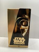 Star Wars Trilogy Special Edition VHS Tapes 1997 Box Set Mastered THX 4102930