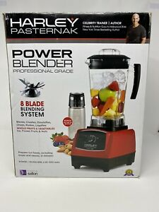 Salton Harley Pasternak Professional Grade BL1486RBT Power Blender - Red