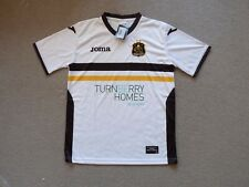 age 10-12 years DUMBARTON FC FOOTBALL SHIRT Soccer Jersey Home Top The Sons G82
