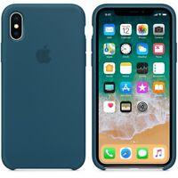 Cosmos Blue  GENUINE ORIGINAL Apple Silicone Case NEW iPhone X RRP $39