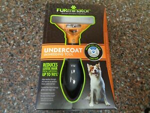 FURminator Undercoat DeShedding Tool for Long Haired Medium Dogs New Sealed