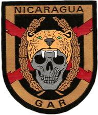 GUARDIA CIVIL GAR NICARAGUA GENDARMERIE POLICE SWAT EB01298 PARCHE INSIGNIA