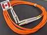 LC to LC Fiber Optic Patch Cable — OM1 Duplex Multimode 62.5/125 Orange (new)