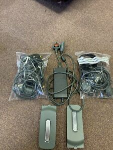 Official Microsoft Xbox 360 20GB HDD X2. Power cables and tv cables bundle.