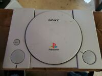 Sony PlayStation 1 Launch Edition Console - Gray (SCPH-7501) console only no acc
