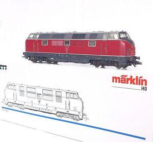 "Marklin AC HO 1:87 German DB V-221 ""V200"" Series Heavy DIESEL LOCOMOTIVE MIB`95"
