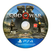 God of War Playstation 4 Sony PS4 Game Disc Only