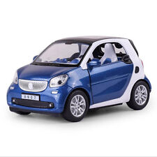 Benz Smart ForTwo 1:24 Alloy Diecast Car Model Toy Vehicle for Kids Boys Gift