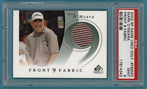 2002 Upper Deck SP Game Used Golf Mark O'Meara #F9SMO PSA 9!
