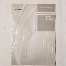 CATERPILLAR YANMAR L48N L70N L100N Industrial Engines Operation Manual