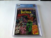 BRAVE AND THE BOLD 82 CGC 9.4 AQUAMAN OCEAN MASTER BATMAN NEAL ADAMS DC COMICS