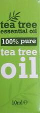 100% Puro Tea Tree olio essenziale 10ml antisettico, anti funghi