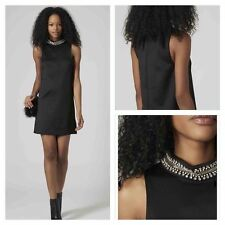 Topshop Sleeveless Crew Neck Casual Dresses for Women